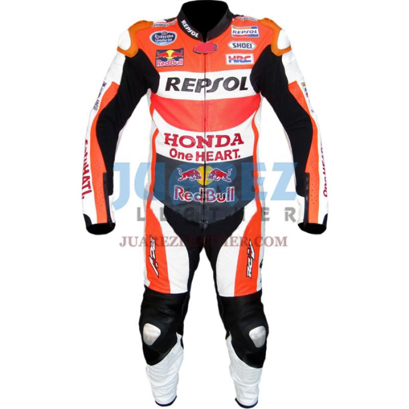 Honda Repsol Dani Pedrosa 2015 Red Bull Motogp Race Leather Suit