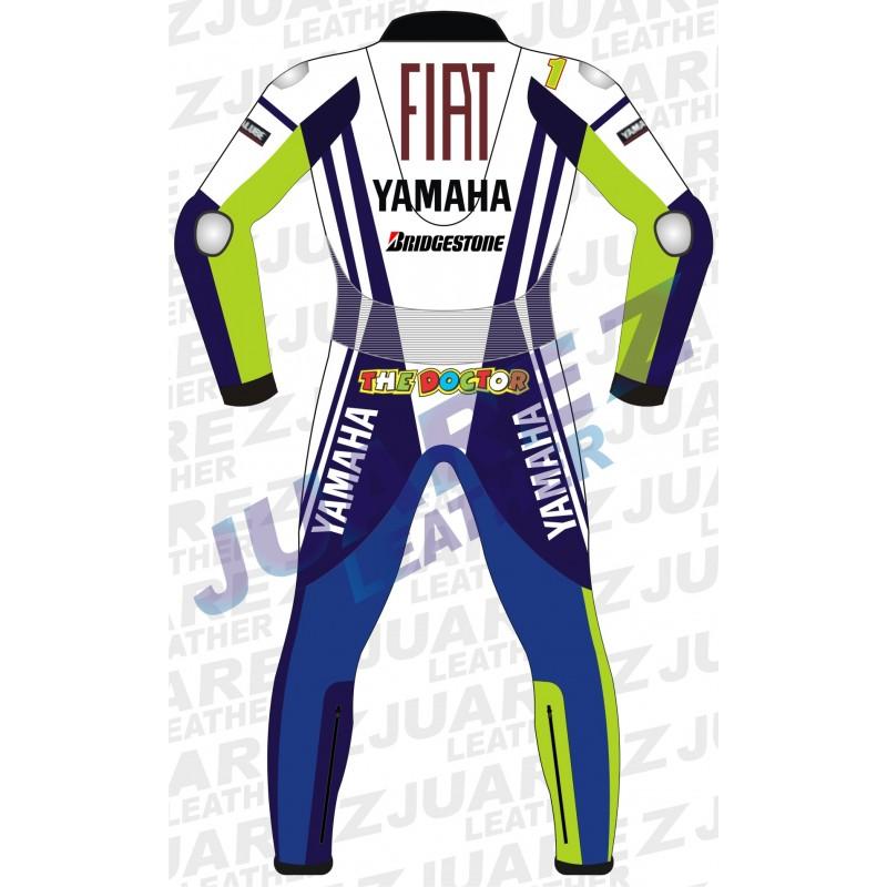 Yamaha Fiat MotoGP 2009 Valentino Rossi Leathers Suit