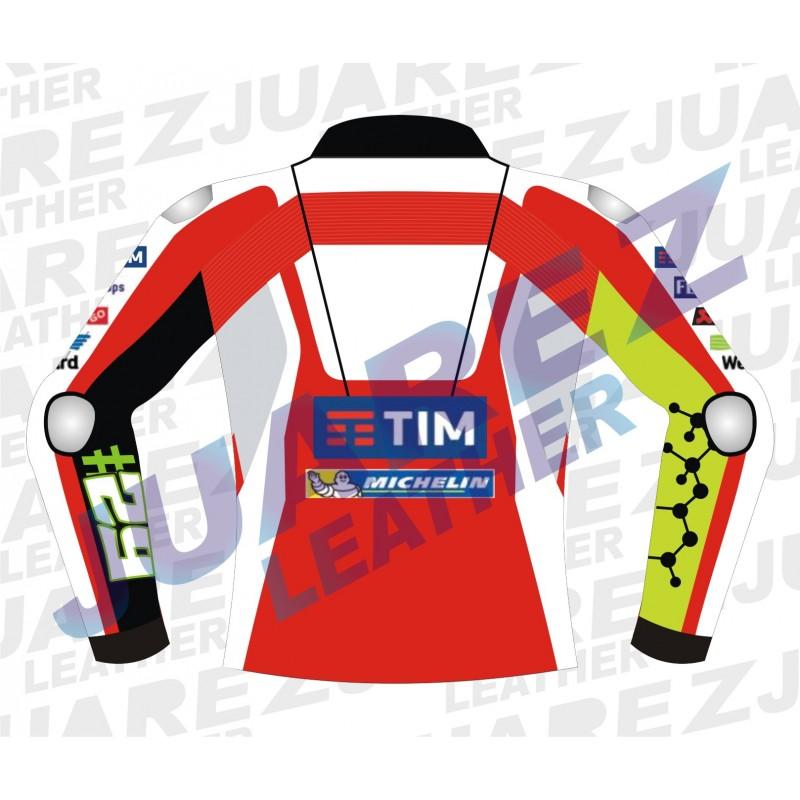 Andrea Iannone Motogp Race 2016 Ducati Leathers jacket