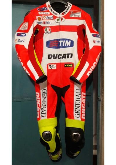 Ducati MotoGP 2012 Valentino Rossi Leather Suit