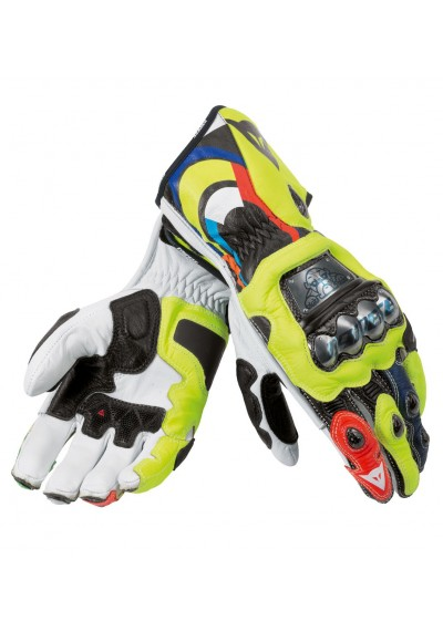 Valentino Rossi Vr 46 2013 MotoGP Race Leather Gloves