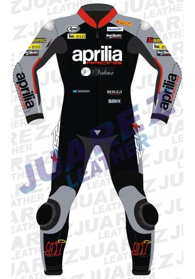Moto 2015 WSBK Racing Leon Haslam Leather Suit