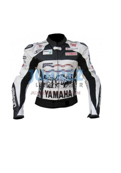 Street Racing Yamaha Petronas 500 Leather Jacket