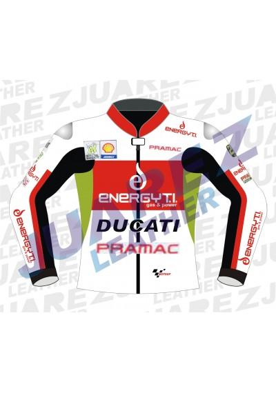Andrea Iannone Motogp Race 2013 Ducati Leather jacket