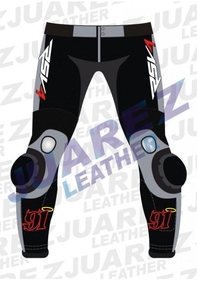 Moto 2015 WSBK Racing Leon Haslam Leather Pant
