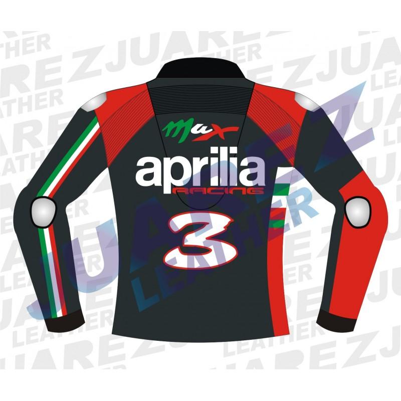 Aprilia Motogp 2012 Max Biaggi Leathers Jacket
