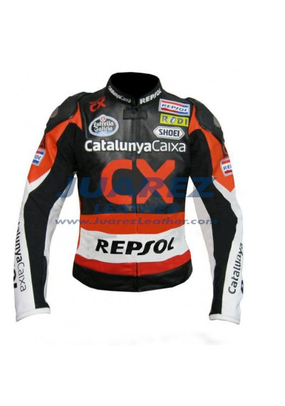 CX Repsol Marc Marquez Motogp 2012 Motorcycle Leather Jacket