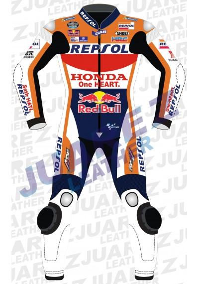 Honda Repsol Dani Pedrosa 2016 Red Bull Motogp Race Leather Suit