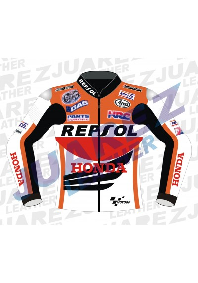 Honda Repsol Marc Marquez Motogp 2014 Leather jacket