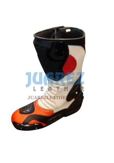 Honda Repsol Motorcycle Racing Leather Boots
