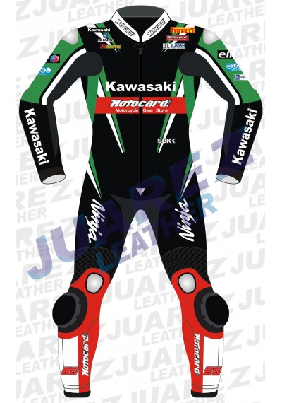 Motogp 2016 Tom Sykes Motorcycle Leathers Suit
