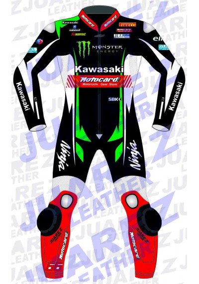 Motogp 2017 Tom Sykes Motorcycle Leathers Suit