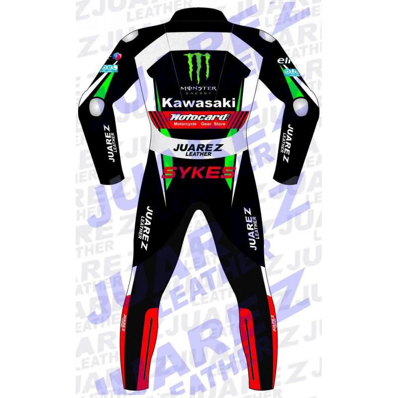 Kawasaki Ninja Motogp 2017 Tom Sykes Leathers Suit