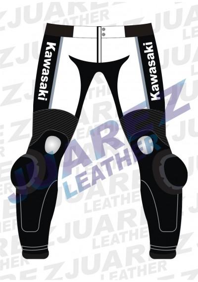 Kawasaki Ninja Redbull Motorcycle Racing Leathers Pant