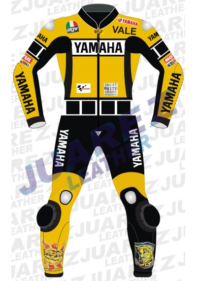 Motogp 2005 Valentino Rossi Yamaha Leathers suit