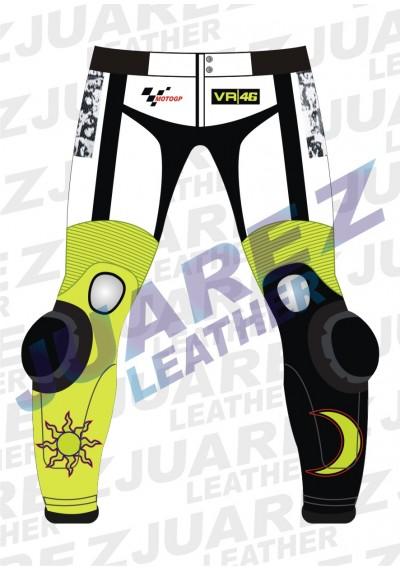 Motogp 2010 Valentino Rossi Yamaha 500 Leathers Pant