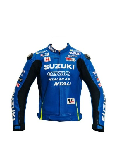Motogp 2015 Suzuki Aleix Espargaro Leather Jacket