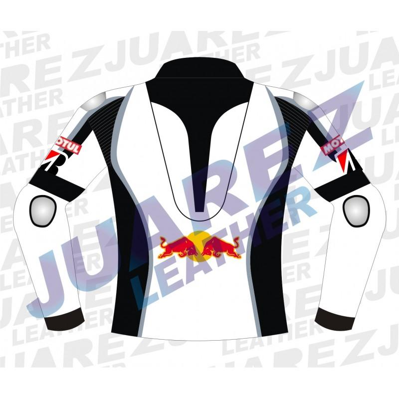 Motorcycle Redbull Kawasaki Ninja Leather Jacket