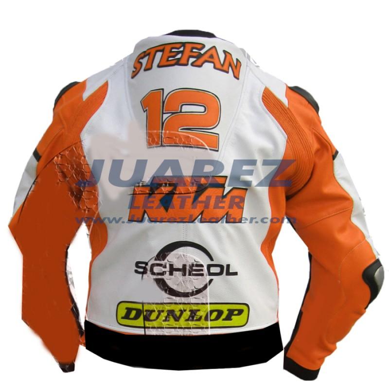 Stefan Nebel Superbike Race 2014 KTM Motorcycle leather Jacket