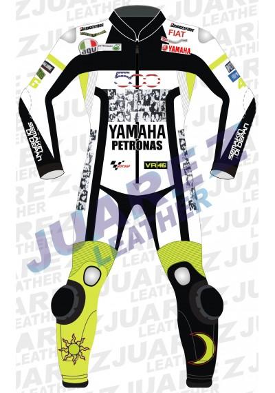 Motogp 2010 Valentino Rossi Yamaha 500 Leathers Suit