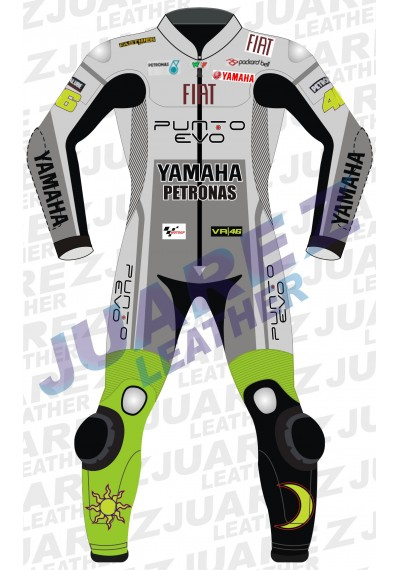 Valentino Rossi Motogp 2009 Fiat Yamaha Leathers Suit
