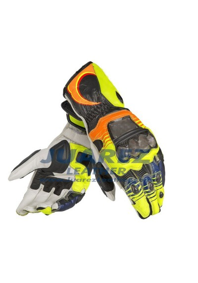 Valentino Rossi Motogp 2014 Vr 46 Leather Gloves