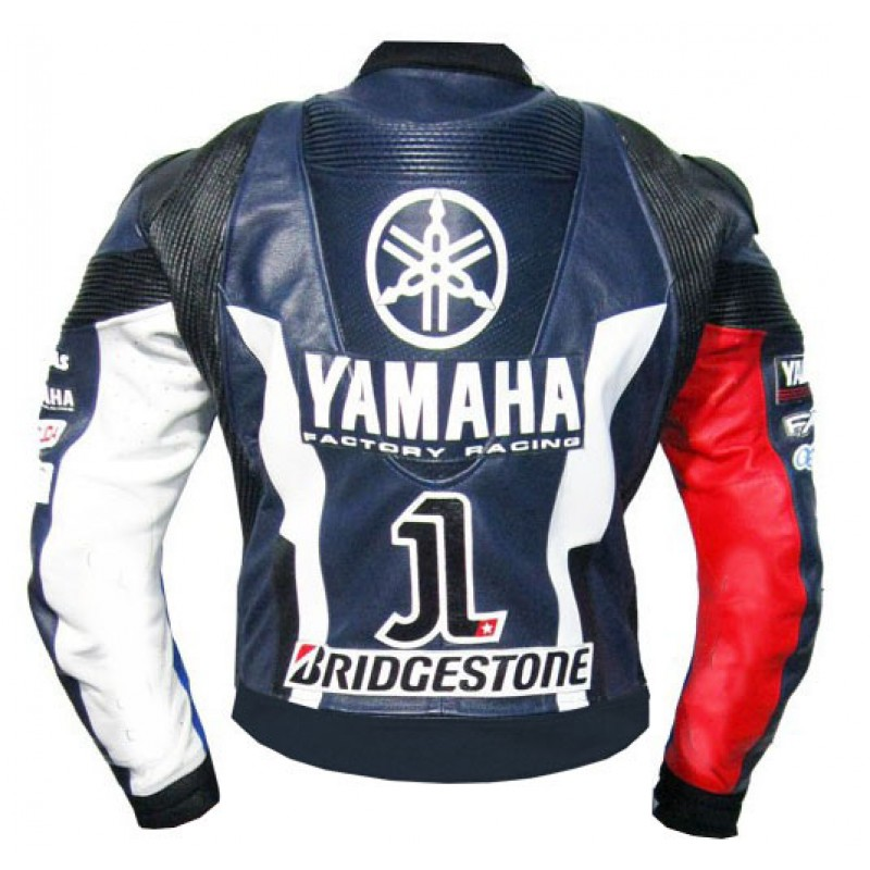 Yamaha Petronas MotoGP 2011 Jorge Lorenzo Leather Jacket