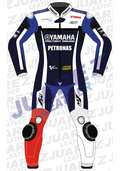 Yamaha Petronas MotoGP 2011 Jorge Lorenzo Leather Suit