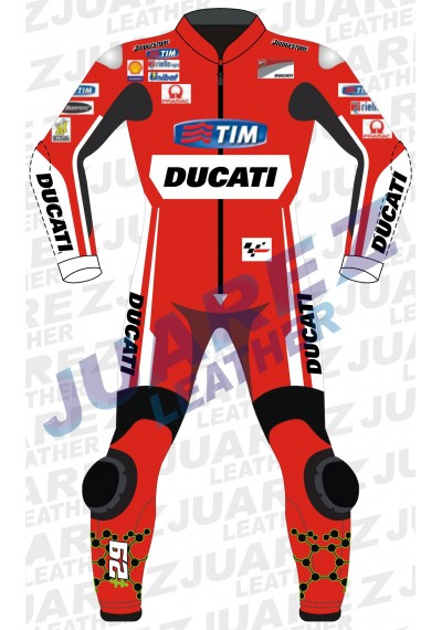 Ducati Motogp 2015 Andrea Iannone Leather Suit