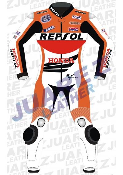 Honda Repsol Marc Marquez Motogp 2014 Leather Suit