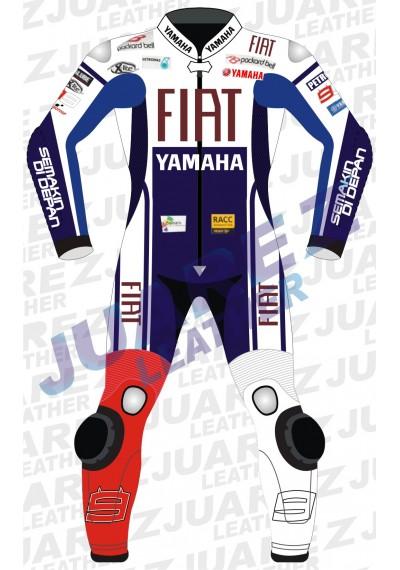 Jorge Lorenzo Motogp 2010 Fiat Yamaha Leathers Suit