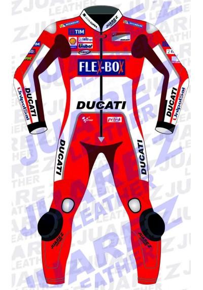 Jorge Lorenzo Motogp Race 2017 Ducati Leathers Suit