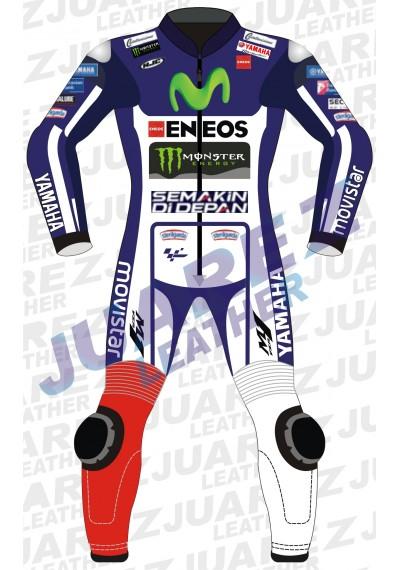 Motogp 2015 Movistar Yamaha Jorge Lorenzo Leather Suit
