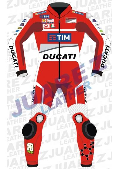 Andrea Iannone Motogp Race 2016 Ducati Leathers Suit