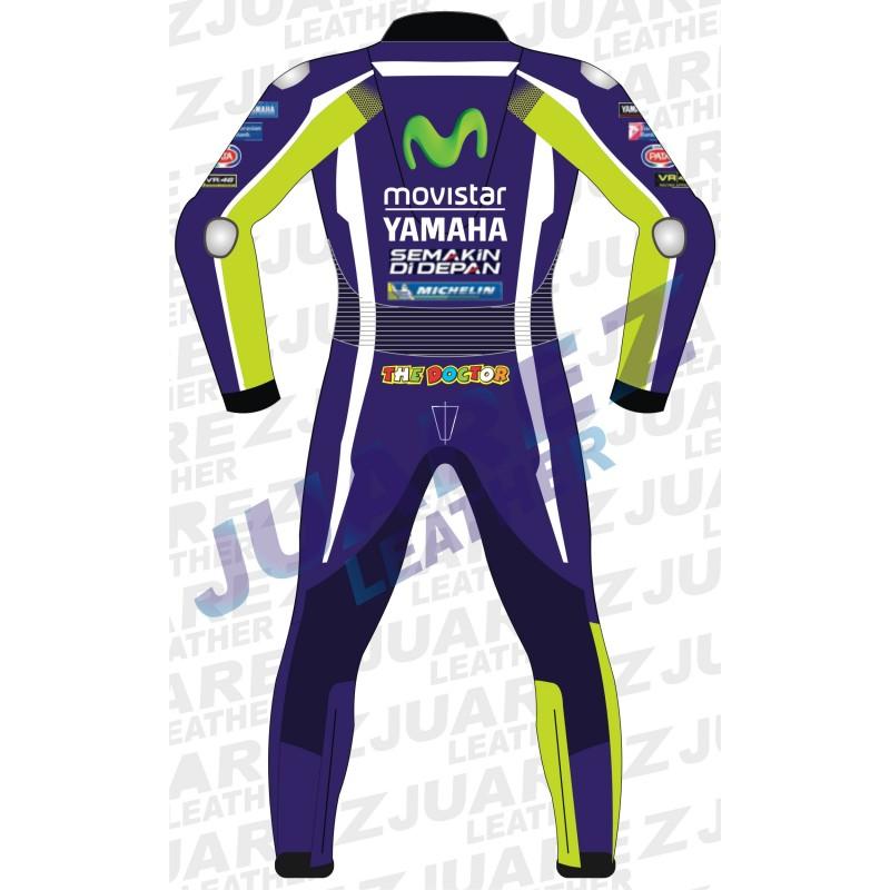 Motogp 2016 Race Movistar Yamaha Valentino Rossi Leather Suit