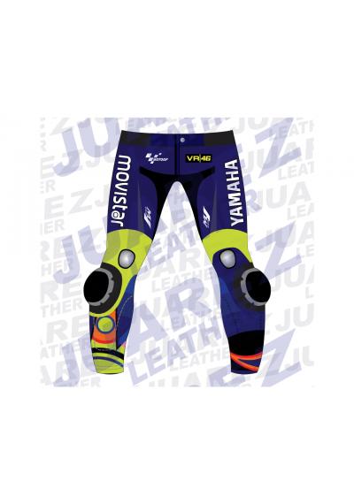 Motogp 2018 Race Movistar Yamaha Valentino Rossi Leather Pant