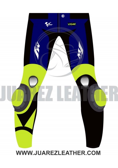 Motogp 2019 Race Movistar Yamaha Valentino Rossi Leather Pant