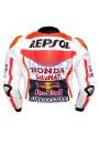 Honda Repsol Marc Marquez Motogp 2015 Red Bull Leather Jacket