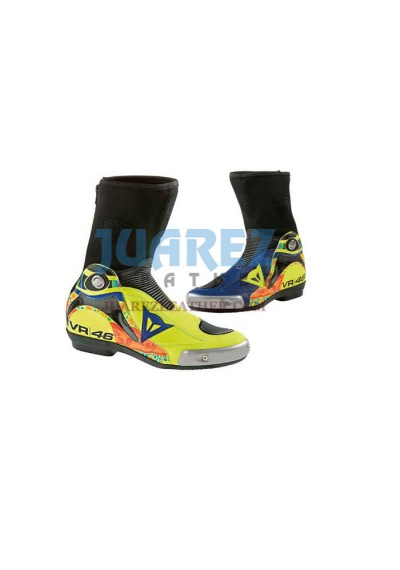 Valentino Rossi Motogp 2014 VR 46 Leathers Boots