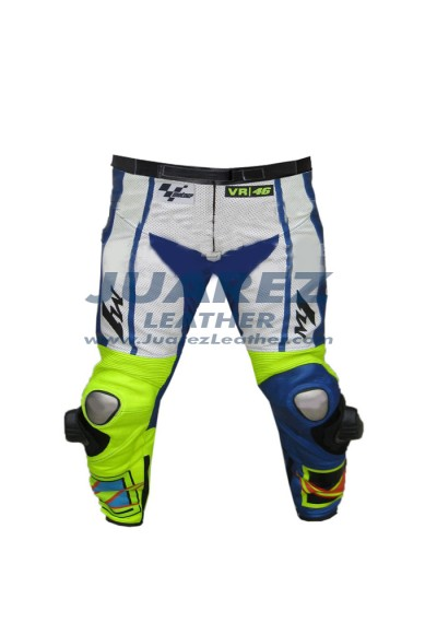 Valentino Rossi Race Yamaha Motogp 2015 Leather Pant