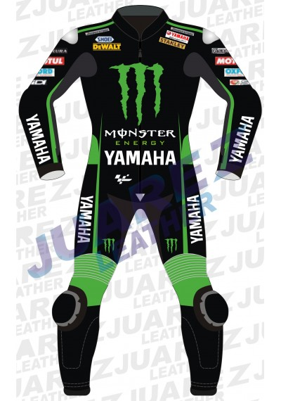 Yamaha Monster Motogp 2015 Bradley Smith  Leather Suit
