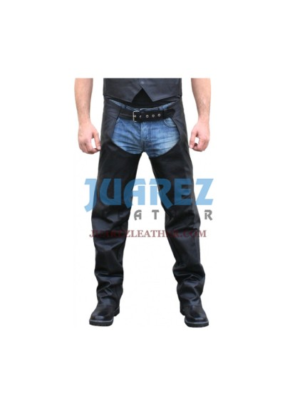 Street Racing Motorcycle Leather Chaps