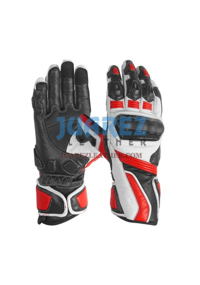 Motorcycle Street Racing Leather Gloves