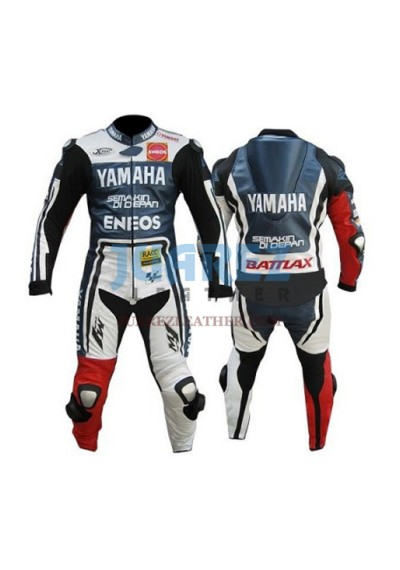 Yamaha Motogp Jorge Lorenzo Mugello Leather Suit