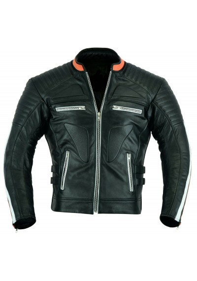 Men Style Motorcycle Leather Jacket