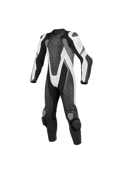 Motorcycle Motorbike Street Style Racing Men Cowhide Leather Suit