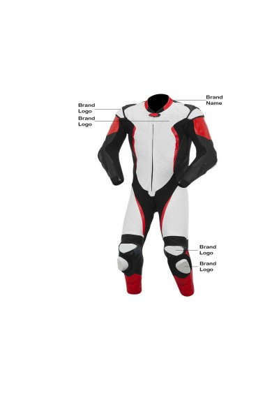Riding Motorcycle Quality Leather Suit