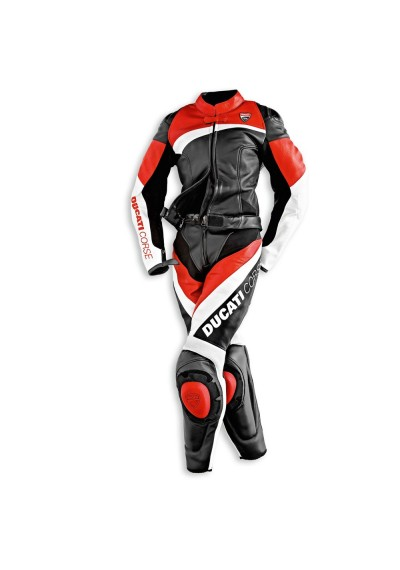Street Racing Motorcycle Ducati Corse Leather Suit